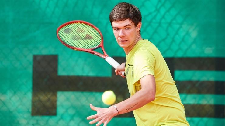French Open: Kamil Majchrzak wyeliminowany przez Karena Chaczanowa