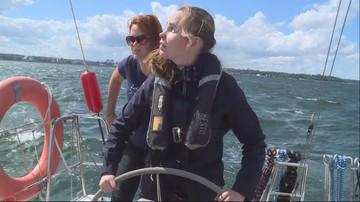 """Niewidomi żeglują po Bałtyku. """"Jest spokój, poczucie wolności"""""""