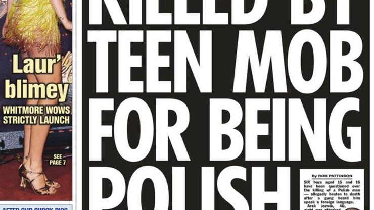 """""""Był bardzo rodzinny"""". Brytyjskie media dotarły do bliskich Polaka zamordowanego w Harlow"""