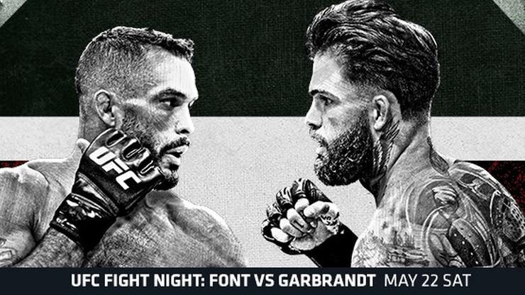 UFC Vegas 27: Font - Garbrandt. Transmisja TV i stream online