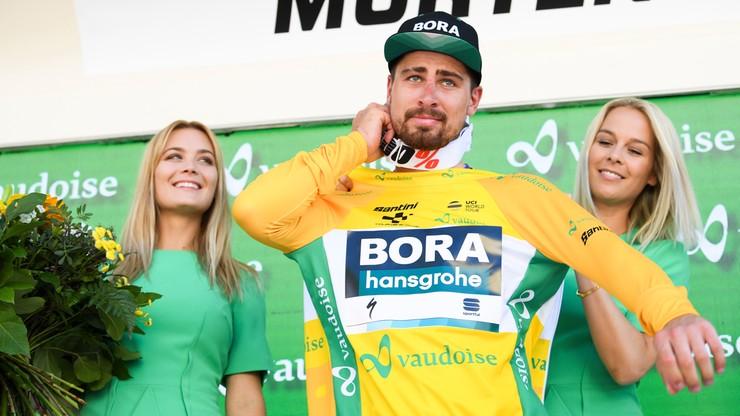 Dookoła Szwajcarii: Sagan wygrał trzeci etap i został liderem