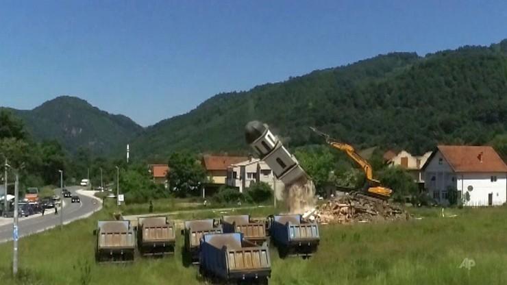 Bośnia. Po 20-letniej batalii zburzyli kościół koło Srebrenicy