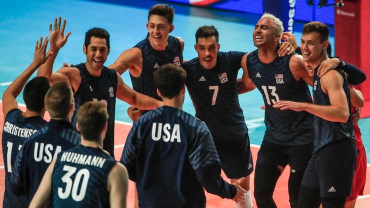 Półfinał Ligi Narodów siatkarzy: USA – Brazylia. Transmisja w Polsacie Sport