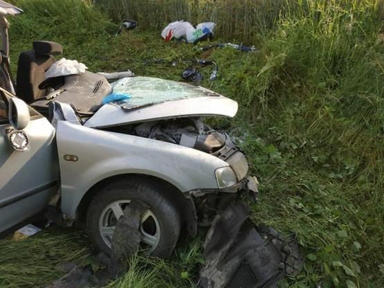 W wypadku siedem osób zostało rannych
