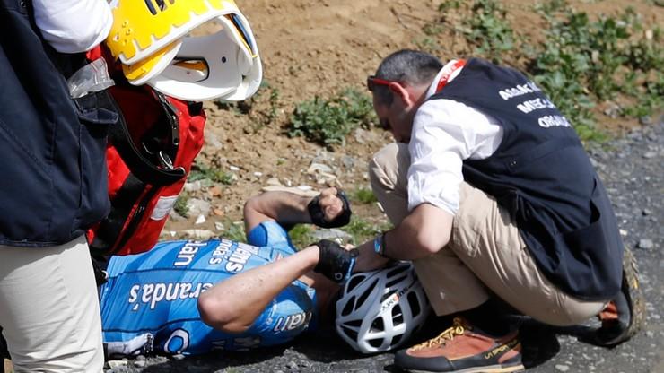 Zmarł 23-letni kolarz, który zasłabł w trakcie wyścigu Paryż-Roubaix