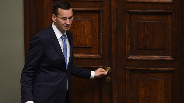 Morawiecki: nie przewiduję zmian w polityce wydatkowej w związku z Brexitem. Podwyżka kwoty wolnej w ramach jednolitej składki