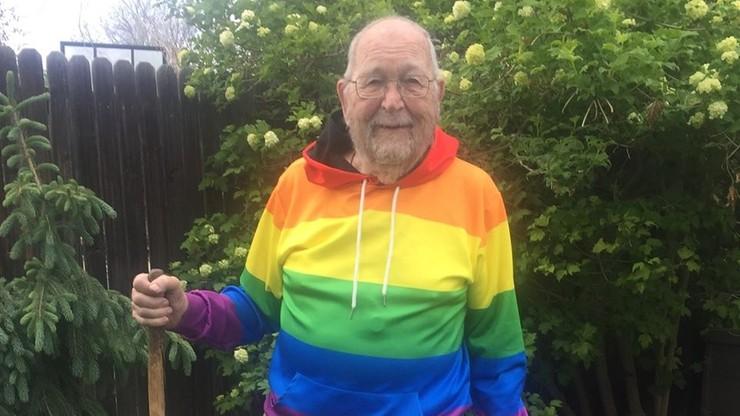 W wieku 90 lat wyznał, że jest gejem. Chce, by jego historia pomogła innym