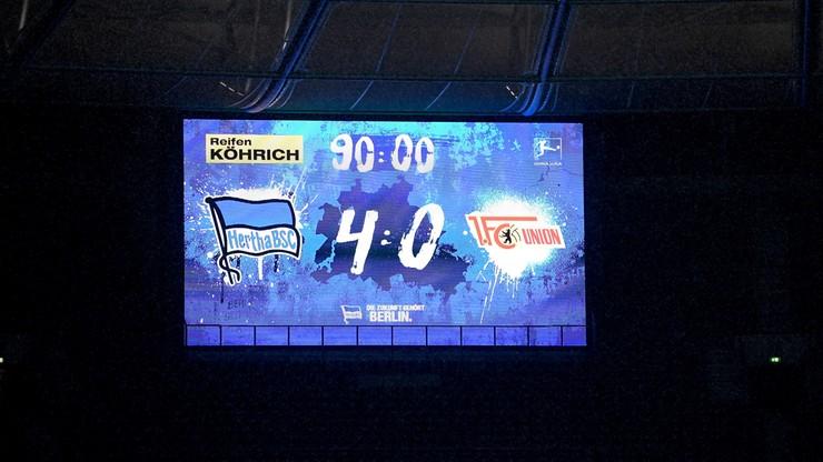 Bundesliga: 4:0! Nokaut w derbach Berlina
