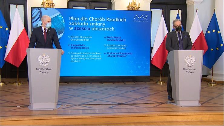 Narodowy Plan dla Chorób Rzadkich. Minister zdrowia: dysponujemy 700 mln złotych