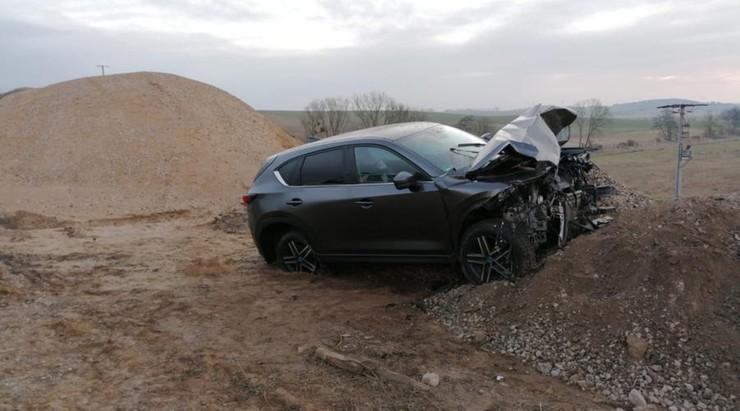 Mazdę CX5 skradziono dwa dni wcześniej w Rostocku