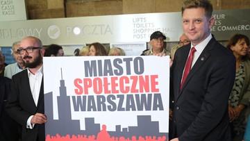 Kandydat SLD na prezydenta Warszawy: na cóż nam wiadukty i metro, gdy ludzie nie są szczęśliwi