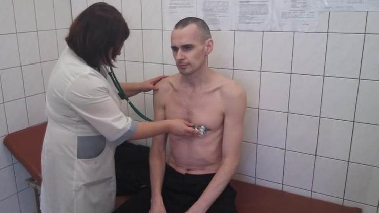 Ołeh Sencow przewieziony z kolonii karnej do szpitala. Od maja prowadzi protest głodowy