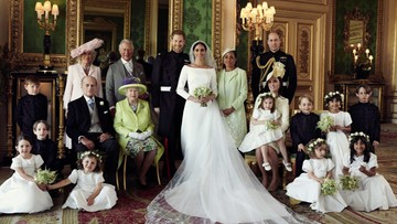 Już nie książę Harry i Megan Markle. Pierwsze oficjalne zdjęcia księcia i księżnej Susex