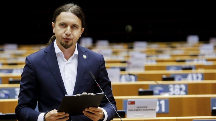 Europoseł zaskoczył tłumaczy. Łukasz Kohut mówił po śląsku w Parlamencie Europejskim