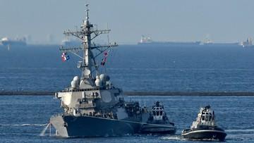 Odnaleziono ciała zaginionych marynarzy z USS Fitzgerald