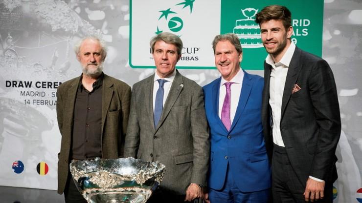 Puchar Davisa: Pique wylosował grupy fazy finałowej