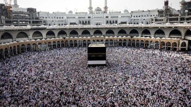 Ponad 1,7 mln pielgrzymów przybyło już do Mekki