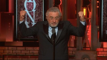 """Fuck Trump!"". Robert De Niro obraził ze sceny prezydenta USA"