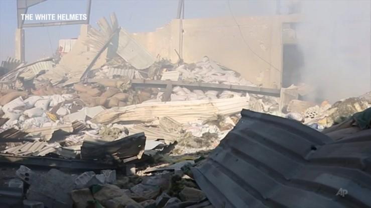 """""""Nie zrzuciliśmy bomb fosforowych w Syrii"""". USA zaprzeczają doniesieniom rosyjskich mediów"""