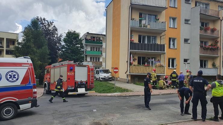 """""""Ekstremalne oparzenia"""". 12-latka walczy o życie po wybuch gazu w Kamiennej Górze"""