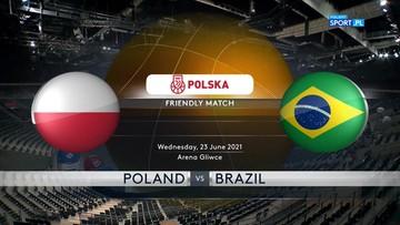 Polska - Brazylia 79:85. Skrót meczu