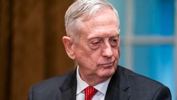 Szef Pentagonu James Mattis niespodziewanie podał się do dymisji