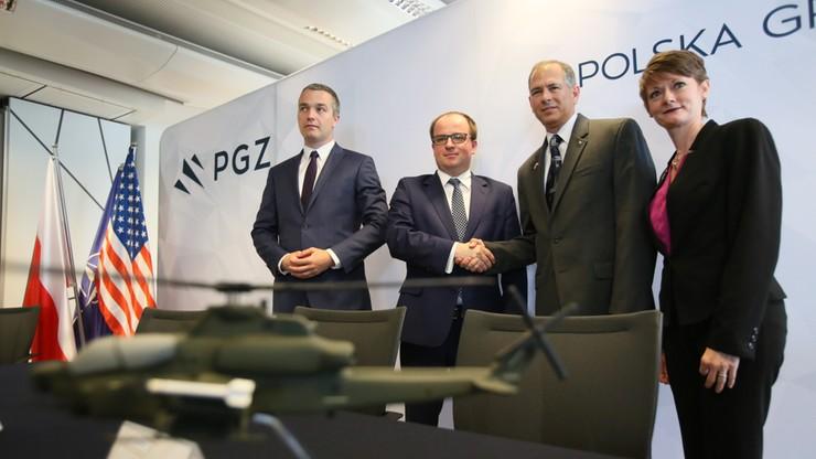 PGZ podpisała list intencyjny z Bell Helicopter ws. budowy śmigłowców dla polskiej armii