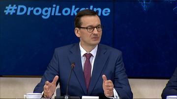 Premier: Fundusz Dróg Samorządowych ma zmienić obraz polskich powiatów i gmin