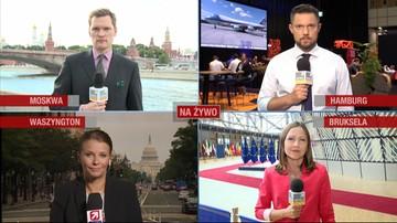 """""""Najlepsze przemówienie, jakie wygłosił"""", """"beszta Rosję"""". Świat komentuje słowa Trumpa w Polsce"""