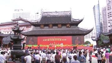 Chińczycy przesunęli jeden z pawilonów słynnej świątyni w Szanghaju