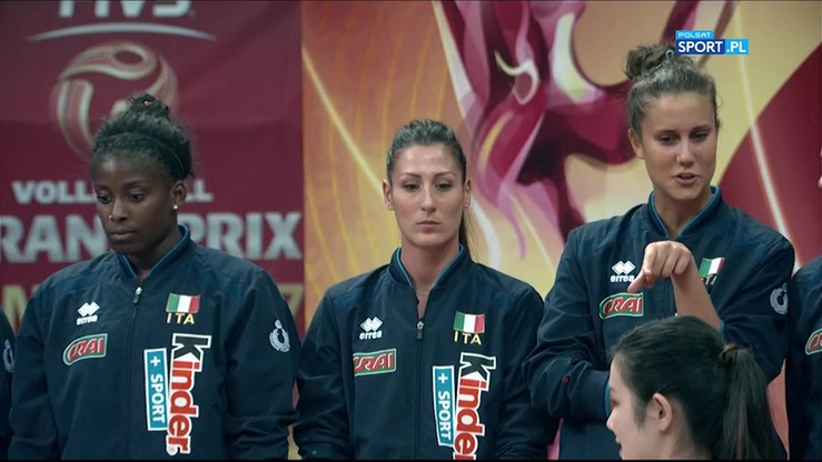 Ceremonia medalowa World Grand Prix 2017