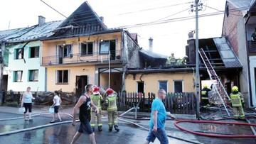 """Pożar zniszczył pięć zabytkowych budynków. """"Straty są ogromne"""""""