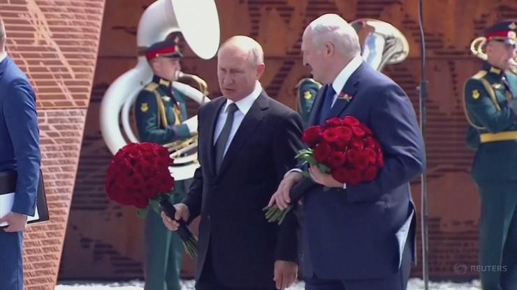 """Putin i Łukaszenka omówili """"sytuację na Białorusi i wokół niej"""""""
