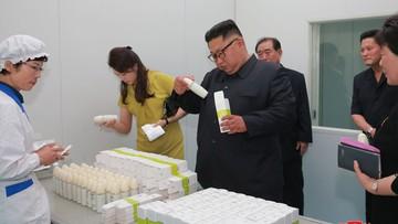 Kim Dzong Un zganił robotników za niewystarczająco ciężką pracę