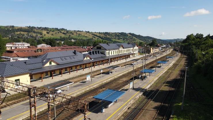 Pociągi do Zakopanego. We wtorek wróci ruch kolejowy między Rabą Wyżną a Sieniawą