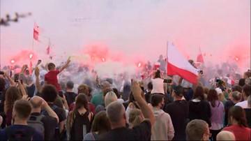 77 lat od wybuchu Powstania. Tak Warszawa upamiętniła rocznicę