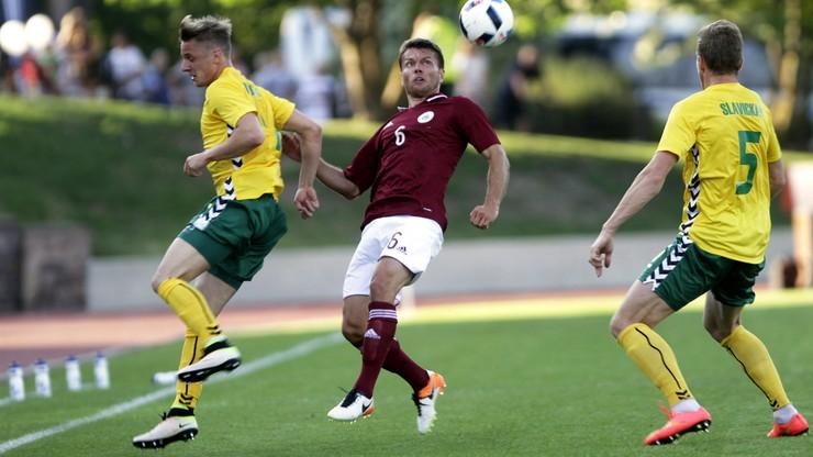 Litwa - Łotwa 1:1 w meczu towarzyskim