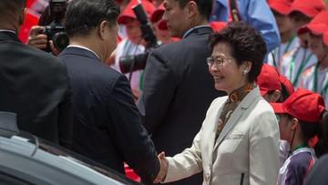 """Prezydent Chin przestrzegł Hongkong przed przekraczaniem """"czerwonej linii"""""""