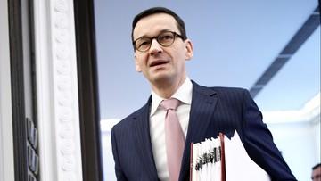 Premier Morawiecki: w Sądzie Najwyższym jest kilkunastu sędziów stanu wojennego