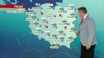 Prognoza pogody - niedziela, 11 kwietnia - popołudnie