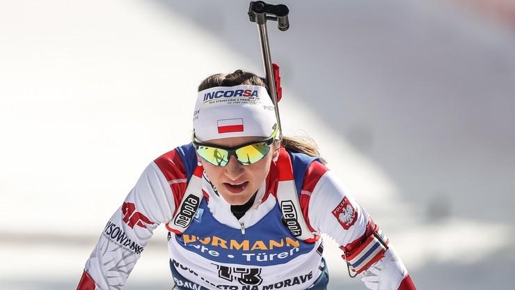ME w biathlonie. Monika Hojnisz-Staręga: Było mi ciężko na trasie