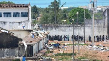 Zamieszki w więzieniu w Brazylii. Zginęło 30 osób