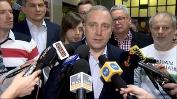 """""""To nie jest kwestia, którą powinien zajmować się Senat"""". Spotkanie u marszałka Karczewskiego bez PO"""