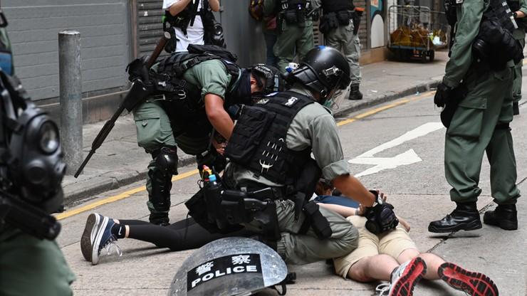 Pekin narzuca nowe prawo. Protesty w Hongkongu