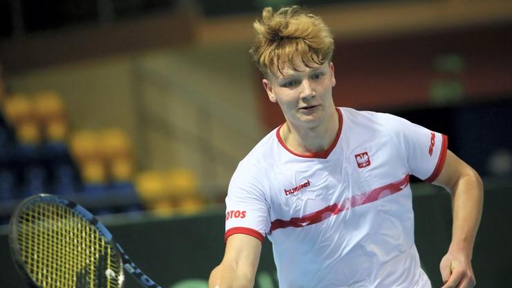 Puchar Davisa: Kaśnikowski przypieczętował wygraną Polski z Hongkongiem