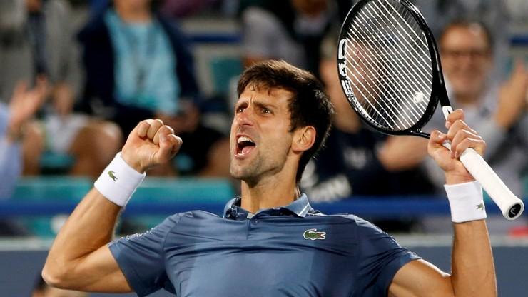 Ranking ATP: Djokovic wciąż liderem, Hurkacz na 88. pozycji