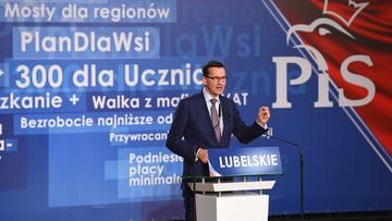 Premier: dążymy do Polski dumnej jak polska husaria i szczęśliwej jak uśmiech dziecka