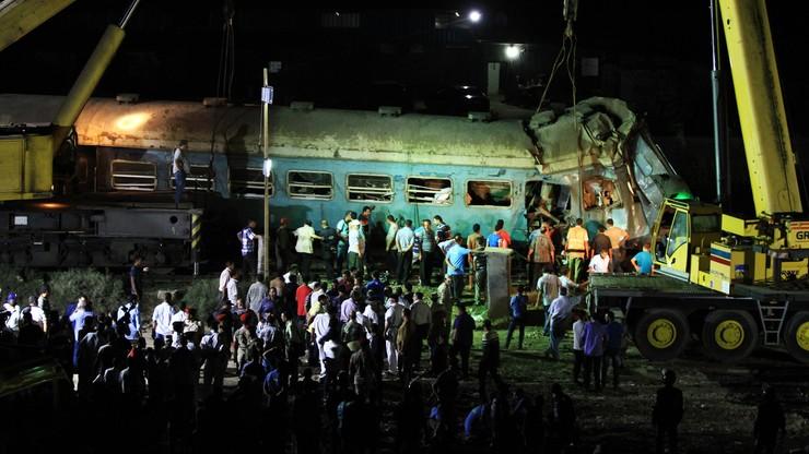 Egipt: po katastrofie kolejowej aresztowano maszynistów obu pociągów