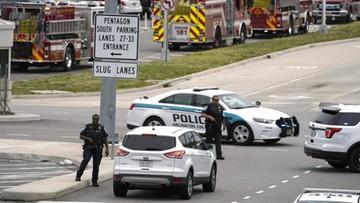Strzelanina przed Pentagonem. Kilka osób rannych, zginął policjant