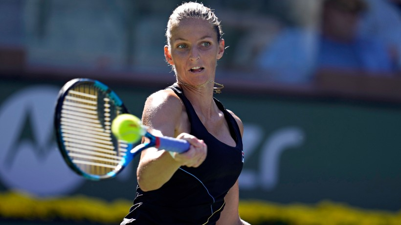 WTA i ATP w Indian Wells: Porażki Karoliny Pliskovej i Andrieja Rublowa